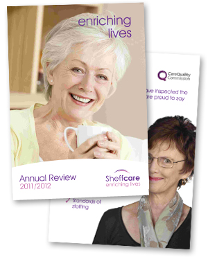 SheffCare Annua Report Website