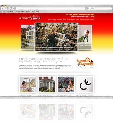 solarframe Website